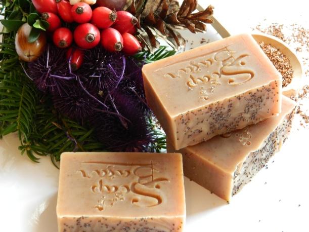 Roibus, sapun natural cu ceai rosu